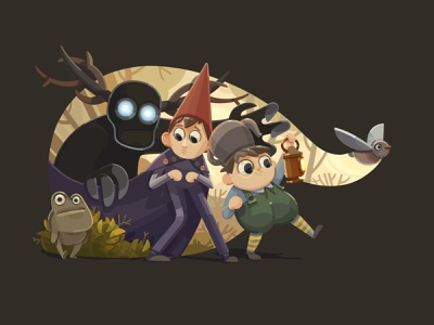 Over the Garden Wall cg fanart art illustration