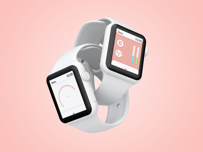 Stem. | Watch Companion App & UI/UX Design ui smartwatch mobile ui modern mobile app app design xd design ui design ux design user interface design minimal mobile app design mobile design visual design ui  ux companion app dribbble design product design adobe xd