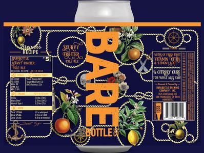 Scurvy Fighter - Craft Beer Label