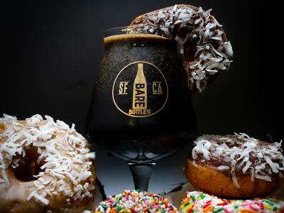 Coconut Donut - Craft Beer Identity