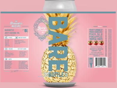 Juicy Couture Craft Beer Packaging Design
