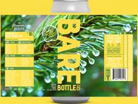 Muir Woods Inspired Craft Beer Label Design