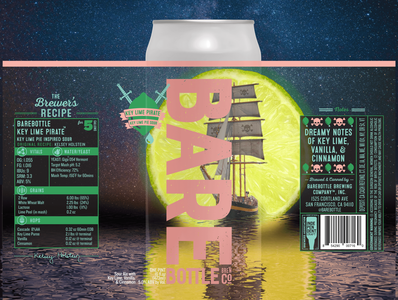 Key Lime Pirate - Craft Beer Label Design