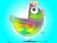 Rainbow Chicken