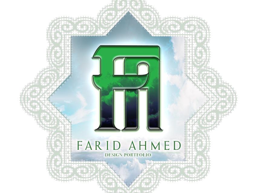 Graphic design cover and logo logo 2d farid ahmed cover design graphicdesign cover logo