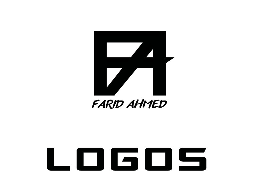 Logo index page portfolio branding farid ahmed portfolio branding logo