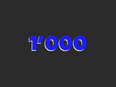 1k followers thank you animation followers 1k followers 1k 1000
