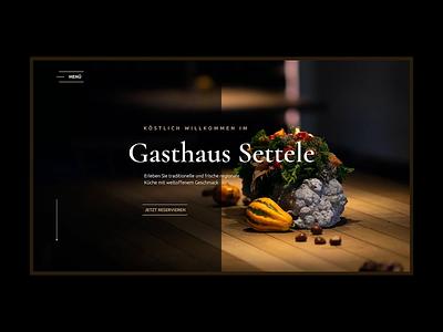 Gasthaus Settele depo germany kitchen tradition reserve dish menu restaurant cook