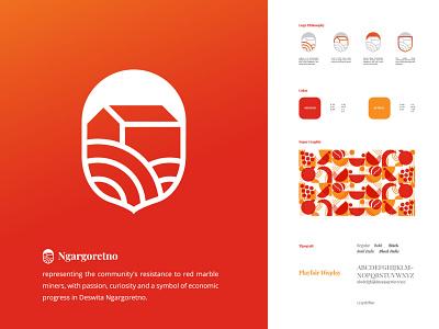 Deswita Ngargoretno business icon concept illustration website ui ux app branding design