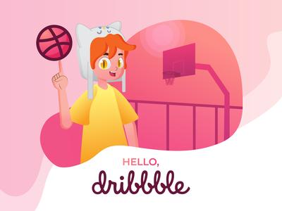 Hello Dirbbble!
