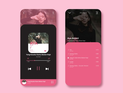 Music Player (Aya Anjani)