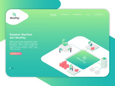 Muepay Desktop Homepage