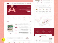 Regulatory Authority for Charitable Activities graphic design vector illustration branding app xd ui minimal ux flat design