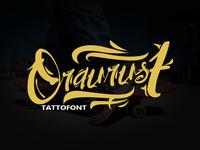 oraurust font tatto