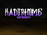 kadirhome font style