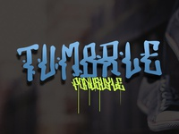 grafity font style TUMBRLE  by jafART