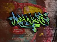 ARFALOS graffity font style new