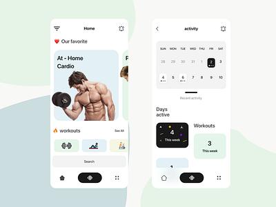 Champions app fitness ui ux  app mobile ios android app design app xd design creative product design design ux ui