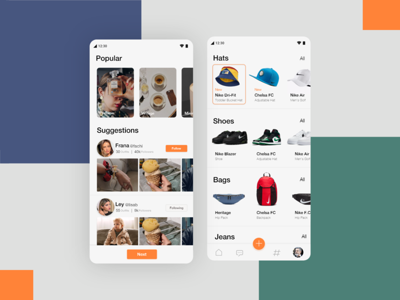 Combyne Application- Digitize your Style product designs user interfaces application ui digital style interaction design user experience userinterface product design application app design fashion design fashion brand clothing fashion