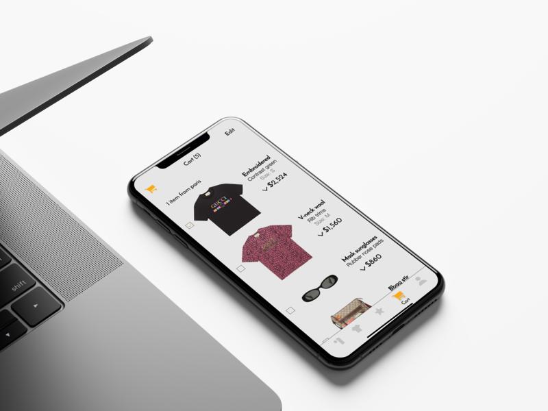 Fashion store design concept web design minimal landing page landing design interaction user interface iphonex appdesign applications menu uiuxdesign webdesigner webdesign user experience userinterface ui  ux uiux ui fashion