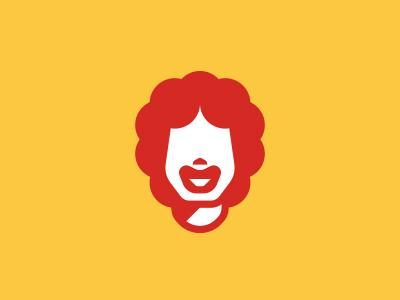 Ronald McDonald red yellow mac big burger hamburger character food fast restaurant fries mcdonald