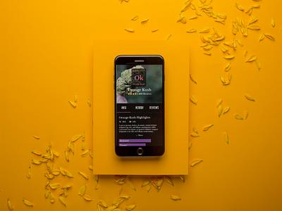 Four20 Premium Market App design ui ux mobile iphonex phone app mockup