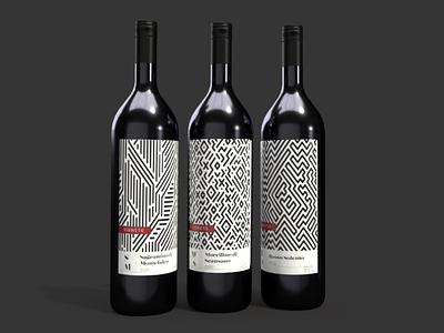 VIGNETO wine labels brand design adobe illustrator adobe dimension graphic design packaging design wine bottles product packaging packaging