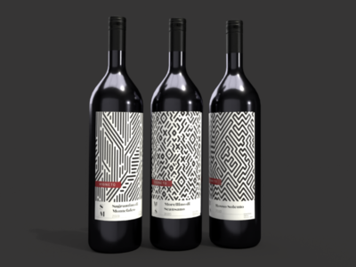 VIGNETO wine labels brand design adobe illustrator adobe dimension graphic design packaging design wine bottles product packaging packaging