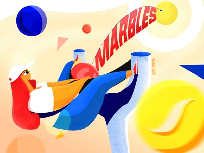 marbles design branding inception 设计 illustration
