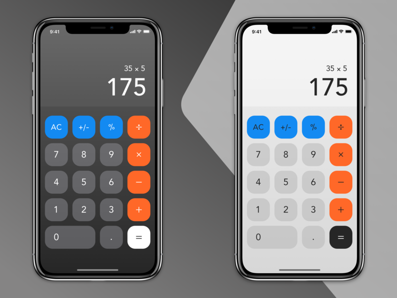 Calculator dailychallenge calculator ui calculator dailyui004 004 dailyui
