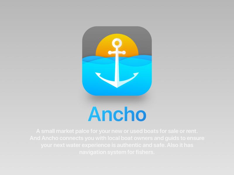 App Icon ancho anchor app icon design appicon 005 dailyuichallenge dailyui005 dailyui