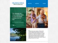 Highland Farms Website
