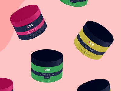 Packaging design for CEB Beauty