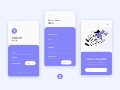 App interface redesign | Stokify