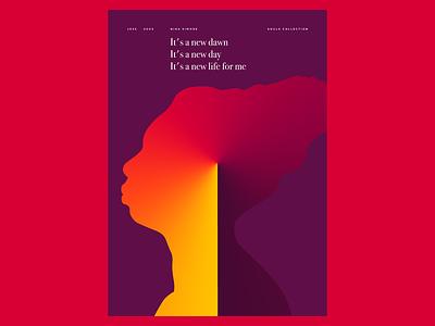 Nina Simone poster poster art design illustration