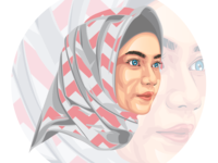 Najra Shabab vector Illustration