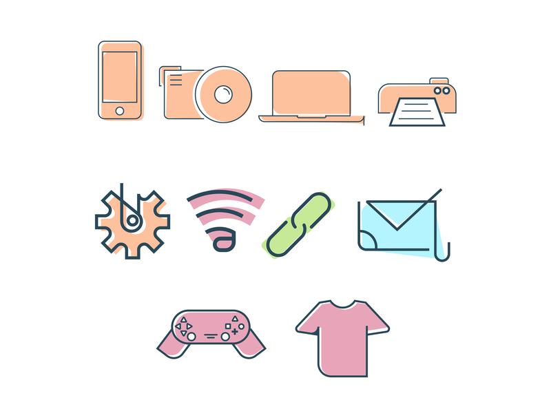 Essential Thing Icon uidesign vectorindonesia vector iconillustrator icondesigner illustraion essential iconillustration icondesigning icon