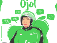Gojek - Illustration