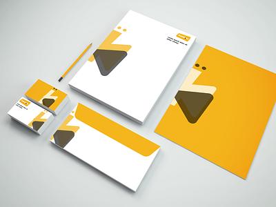 Branding Stationery Design brandconcept brandidentity brandingdesign logodesign envelopedesign logo graphicdesign design desain designgraphic illustration branding