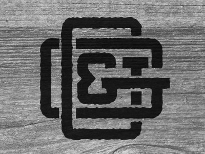 Grit & Grain Logo typography branding