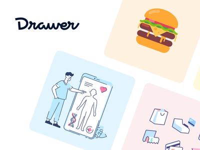 Drawer marketplace