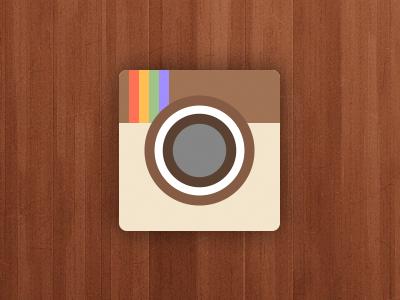 Instagram flat icon