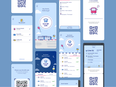 AnyWay App screens transportationdesign transportation app transportation transport train bus colorful app uxuidesign uxui uxdesign ux ui uidesign productdesign design appdesign