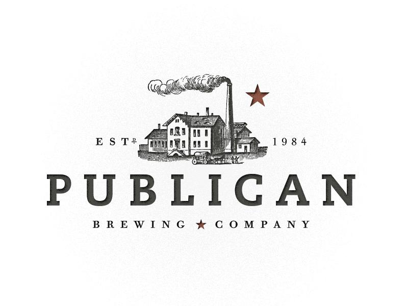 Publican Brewing Co. branding beer publican brewing logo icon brand identity brew