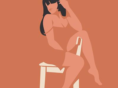 Untitled fashion design flat design flat illustration