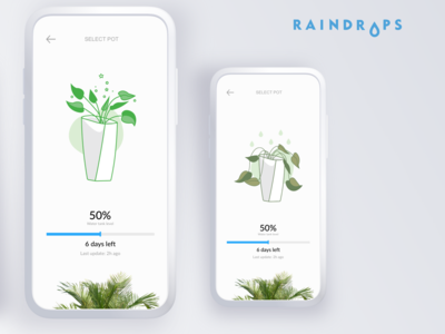 Raindrops - An automated plant watering solution