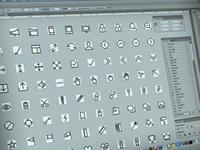 Outline Icon Set + Icon font