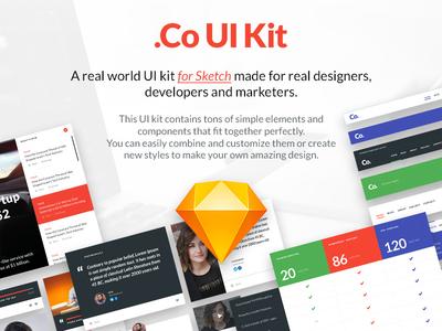 .Co-UI-KIT for Sketchapp