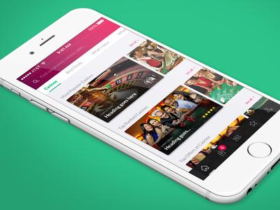 Affiliate Gambling Mobile App