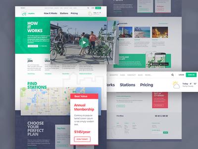 City Bikes on Subscription Website
